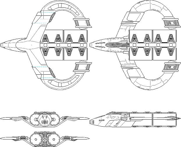 The Questarian - Galaxy Quest WebRing - Tech Manual - Ships 01